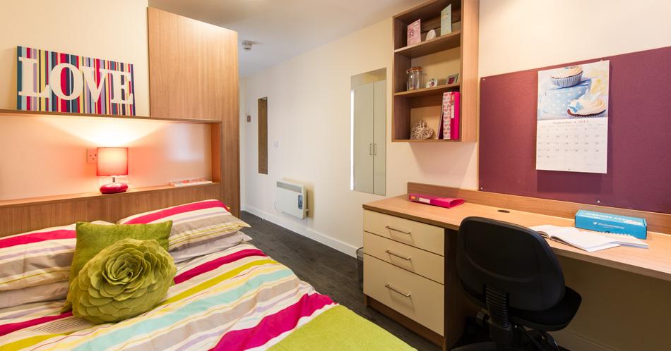 Bangor University Student Room